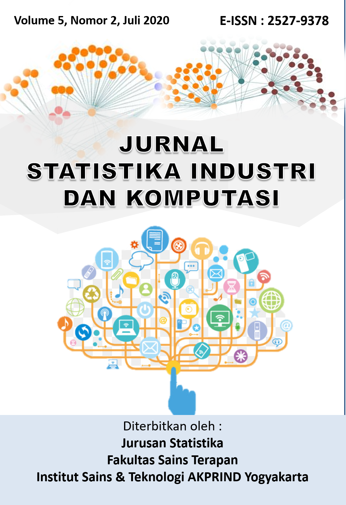 View Vol. 5 No. 02 (2020): Jurnal Statistika Industri dan Komputasi